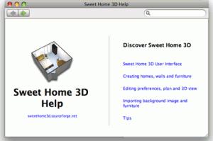 , Sweet Home 3D.Мебельный интерьер