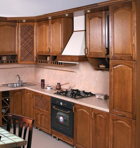 , Кухня из натурального  дерева!