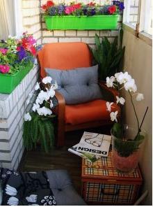 , Идеи  мебели на балконе
