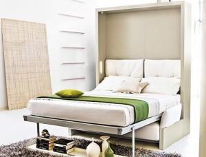 , Кровать в шкафу