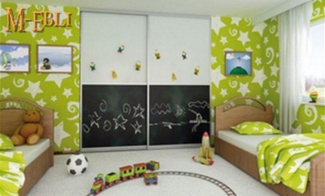 , Комната для ребенка — «растущий» шкаф
