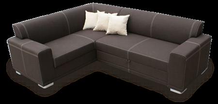, Угловой диван в жилом интерьере