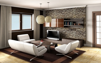 гостиная комната интерьер
