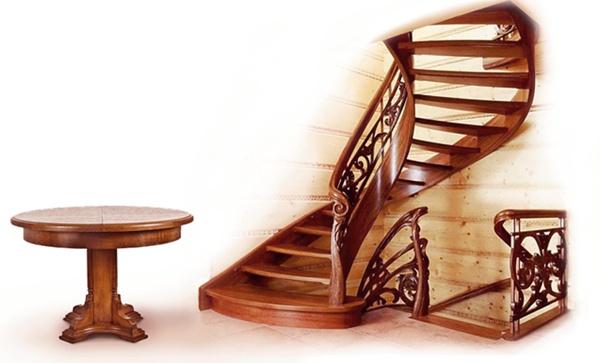 , Особенности деревянных лестниц