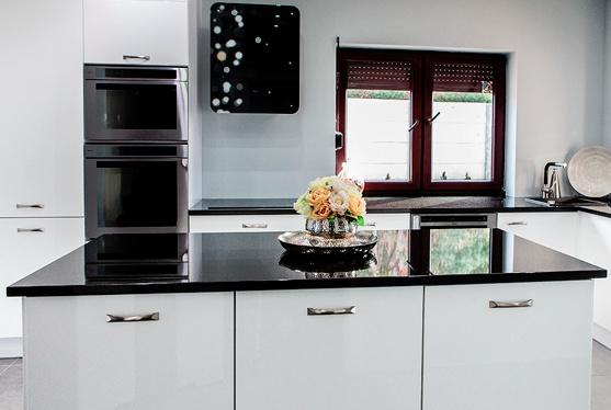 , Черно-белая кухня