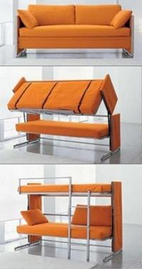 двухъярусный детский диван