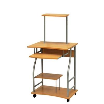 Угловой и прямой компьютерный стол