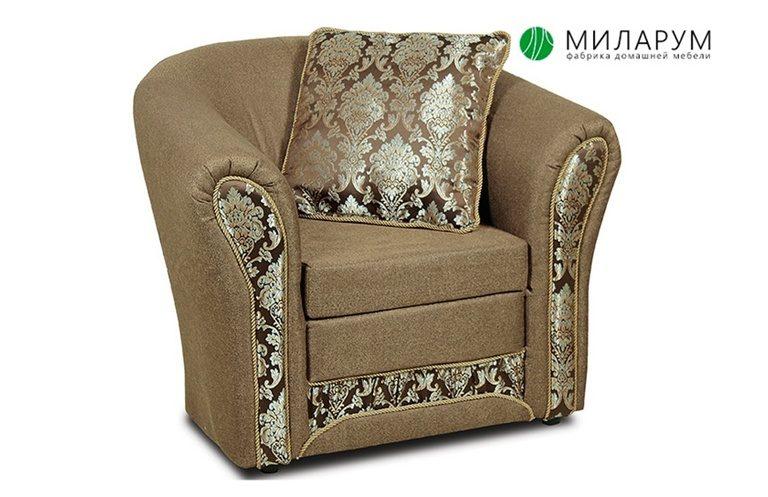 Кресло ткань комбинированная