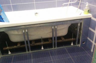 Экран под стальную ванну
